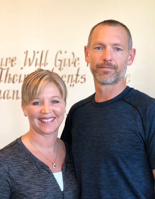 Chiropractors Ryan and Christine Bowman