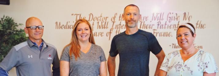 Chiropractic Iow City IA Regenerative Medicine Staff at Bowman Chiropractic Associates, PC of Iowa City